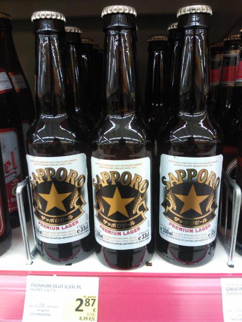 Sapporo olut