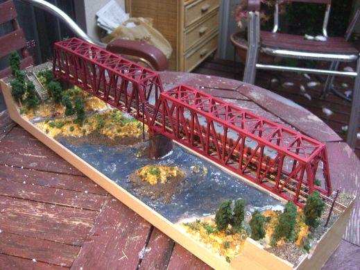 ミニレイアウト※鉄橋