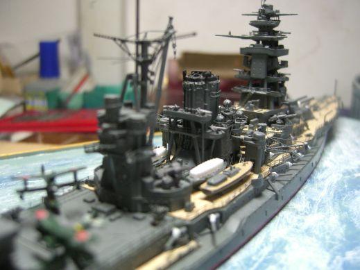 戦艦長門 1/720 スーパーディティール