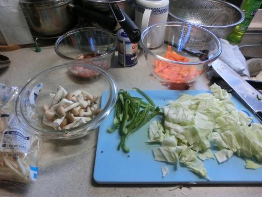 肉野菜炒め1