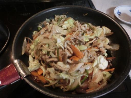 肉野菜炒め3