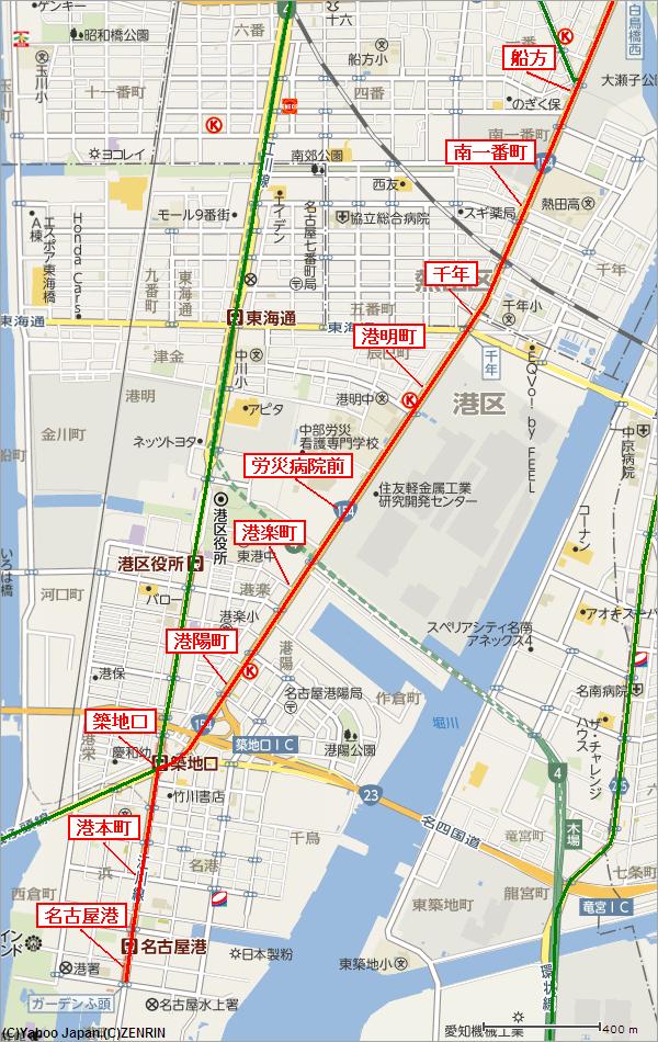急行きそ3号名古屋市電築港線2/2 船方~名古屋港トラックバックURL