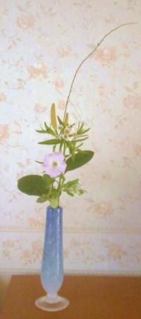 みずひき沖縄ガラス花瓶