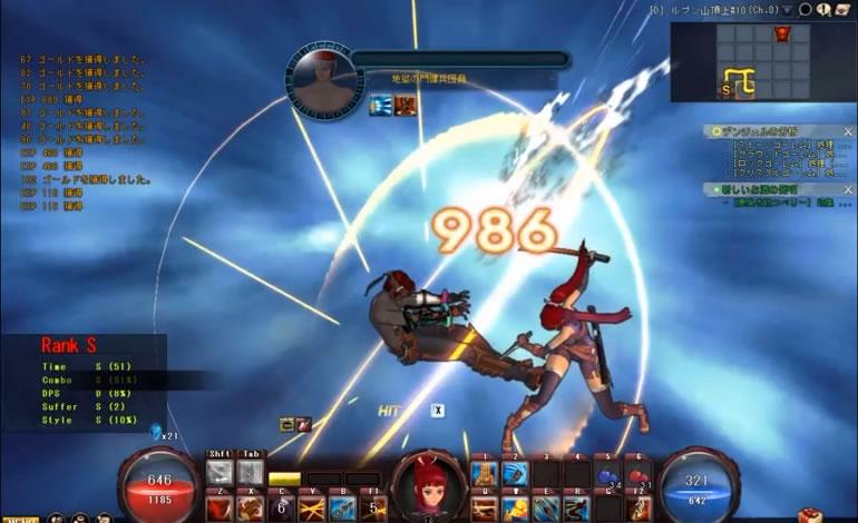 爽快横スクロールアクションオンラインゲーム『ケイオスクルセーダーズ』