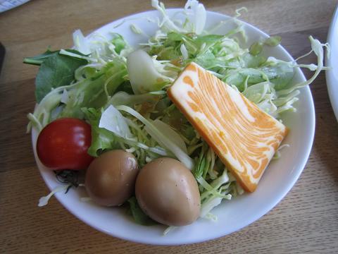 サラダ&燻製