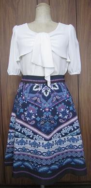 一目惚れスカート