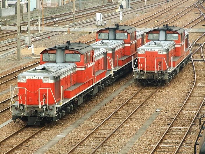 DSCF5999 100210 72レ(847号+832号)&174レ  塩浜