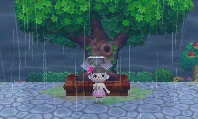 雷雨の雨宿り2