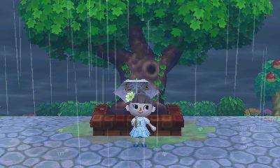 雷雨の雨宿り1