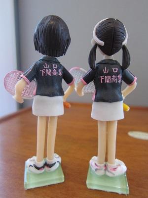 女子テニスペア