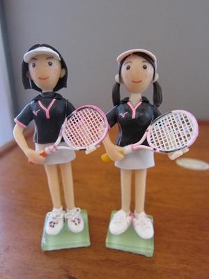 女子テニスペア2
