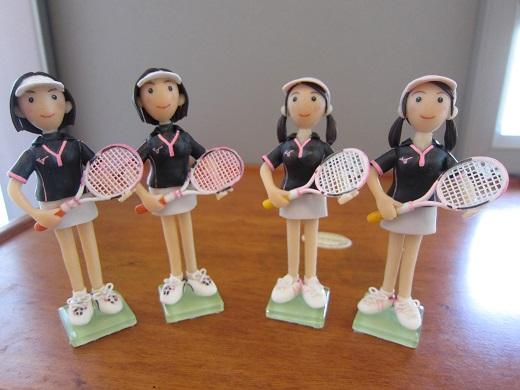 女子テニスペア4