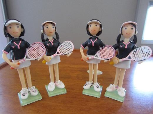 女子テニスペア5