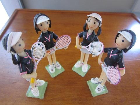 女子テニスペア7