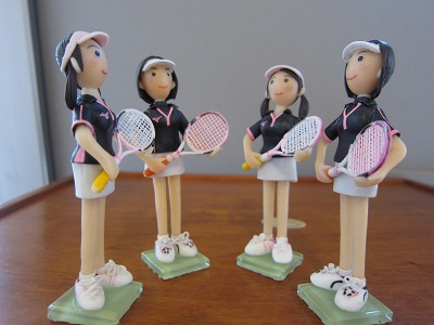 女子テニスペア8