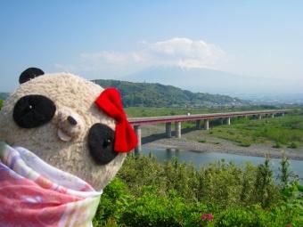 おばぶ富士川SAにて