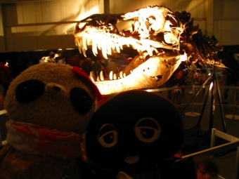 ばぶクロ恐竜のあたまと