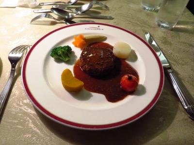 カシオペアフランス料理牛フィレ肉ソテー