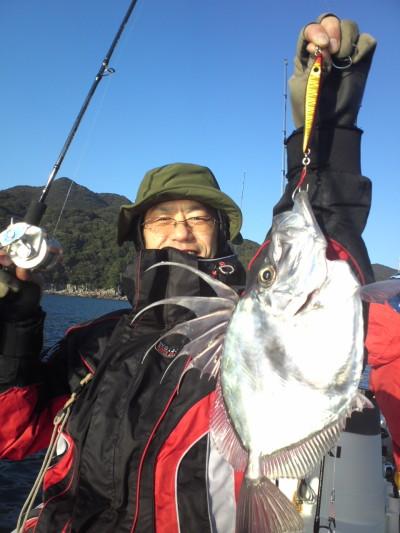 山田さんが釣った鏡鯛