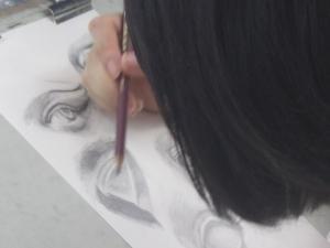 鉛筆描写1