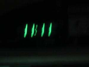 11時11分発