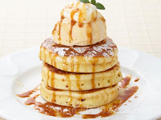 デニーズのパンケーキ3段Tallサイズ041