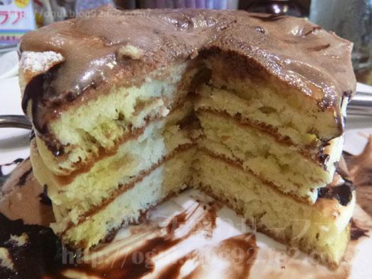 デニーズのパンケーキ3段Tallサイズ053