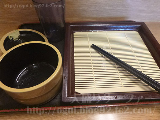 石臼生そば本陣鴬谷店もり蕎麦特盛り031