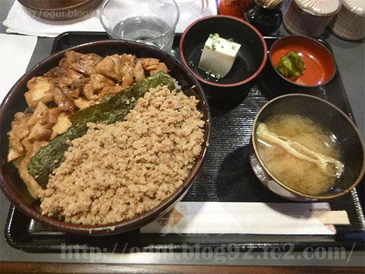 芝の鶏一代の名物きじ焼丼018