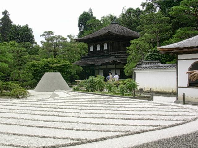 銀閣寺 月