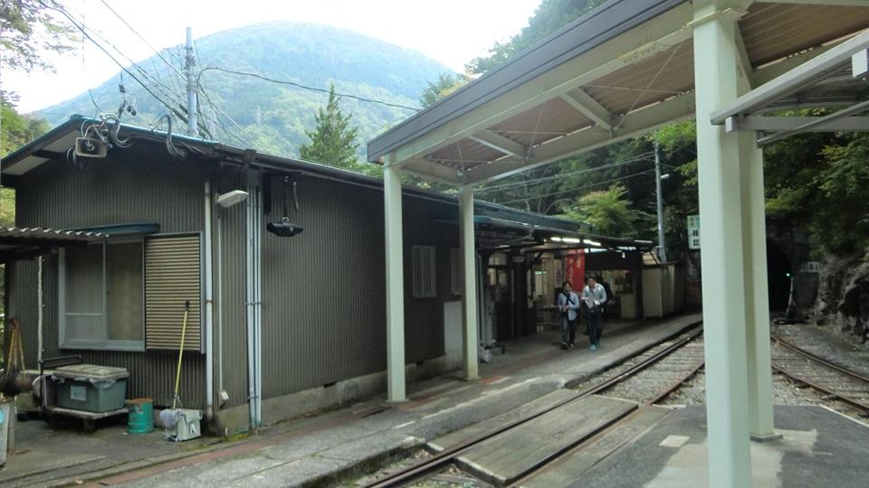 井川駅の駅舎