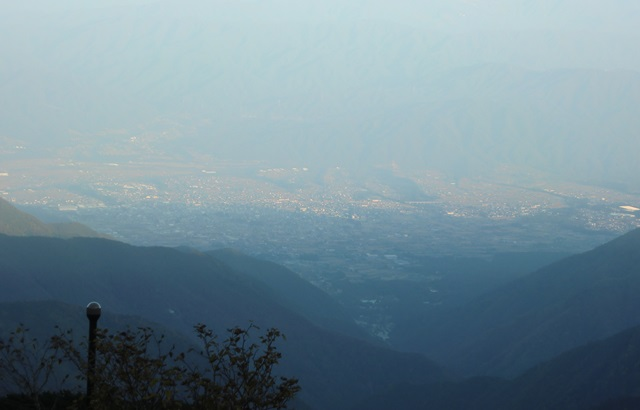 千畳敷カールから眺めた駒ヶ根市街2