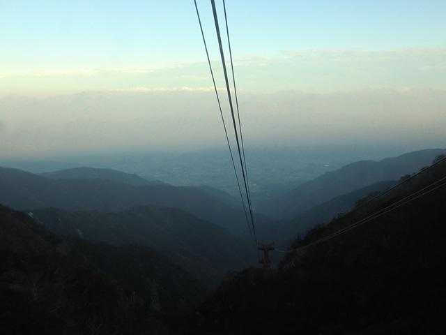 駒ヶ岳ロープウェイの眺め