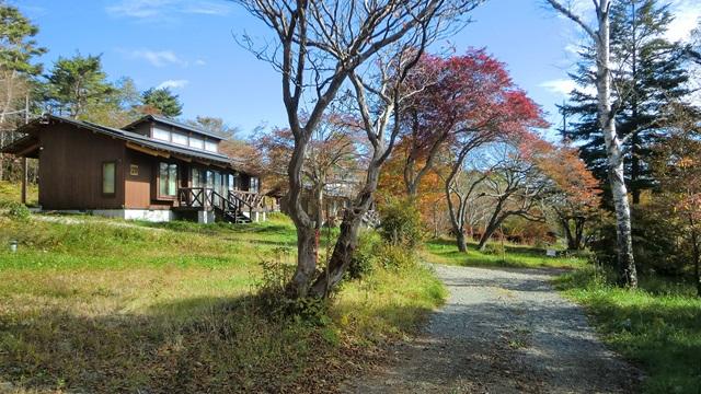清泉寮の周りを散策、その2
