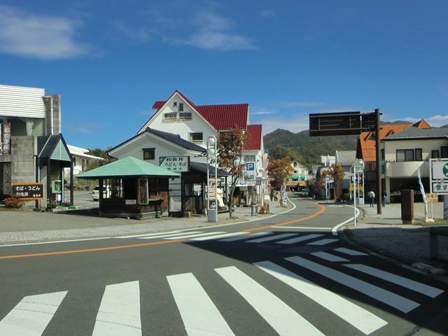 清里駅へ向かう県道11号線