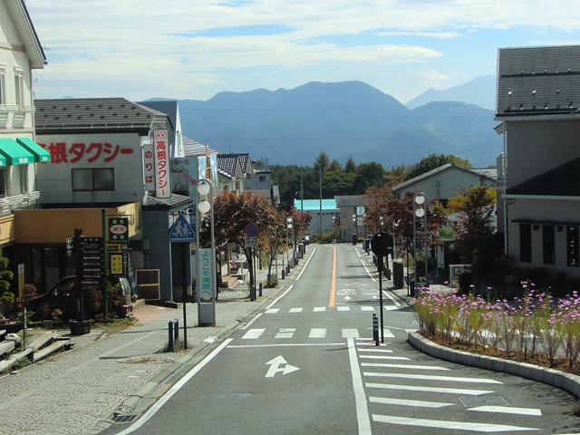 清里駅前の八ヶ岳高原ライン