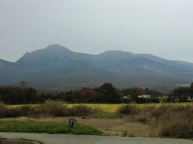 曇り空の八ヶ岳