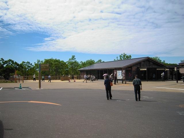 知床五湖の駐車場