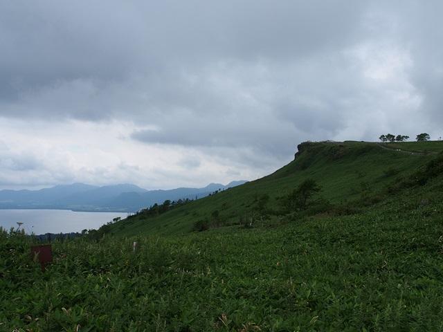 屈斜路湖を一望できる美幌峠展望台