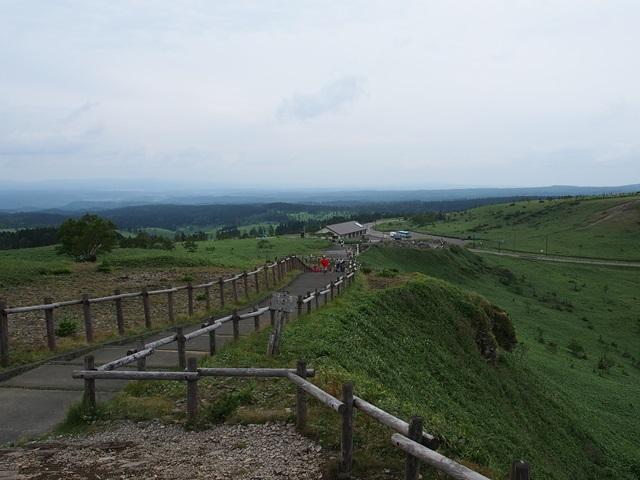 美幌峠一帯の景色