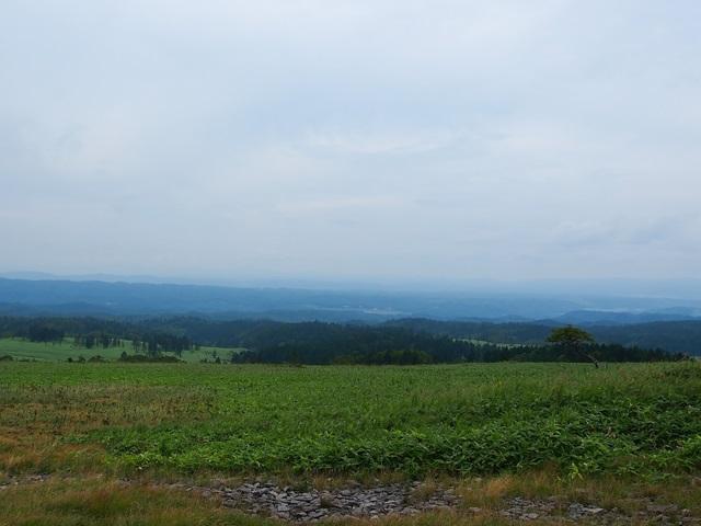 美幌峠から見た美幌町側の景色1