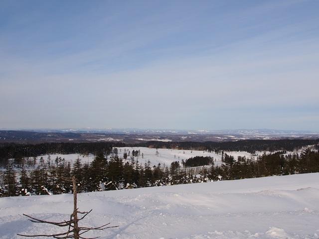 美幌峠から眺めた美幌町側の景色