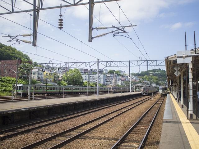 小樽駅のホーム