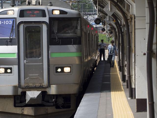 小樽駅に停まっている列車