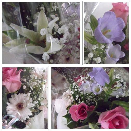 20140517白ユリ赤薔薇紫花