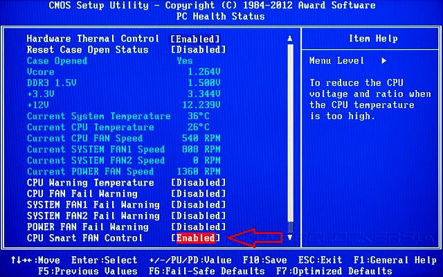 CPU Smart FAN Control