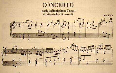 イタリア協奏曲
