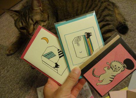 猫さんカード