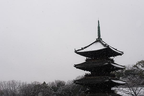 雪の興正寺-12