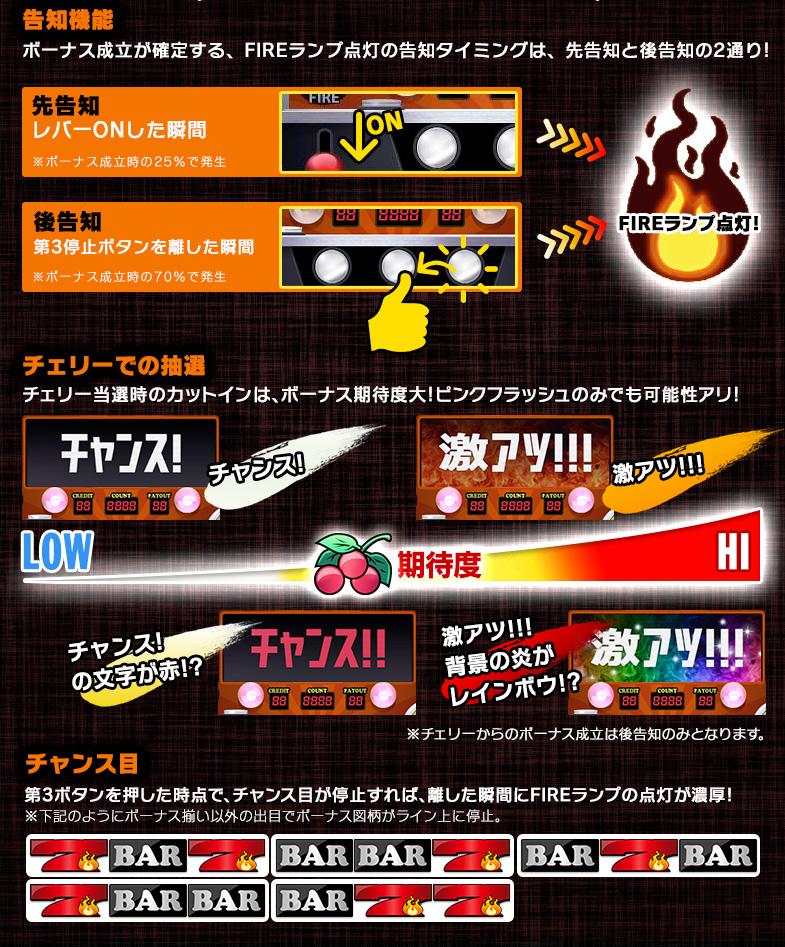 FIRE FIRE 強 演出
